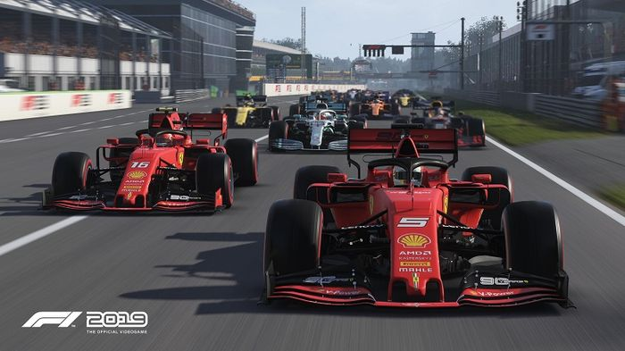 PRODUCTION LINE! Will we see an EA Formula 1 game soon