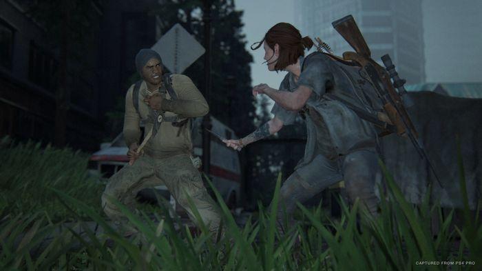 TLOU2 Factions Multiplayer Ellie Knife Combat