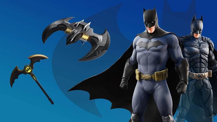 Fortnite Batman skins