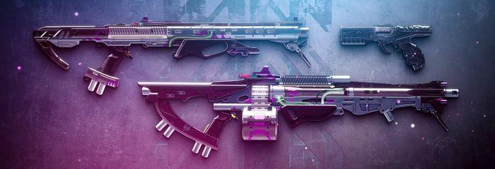 New Destiny 2 Season 14 Weapons Season Pass Exotic Stasis Sidearm Shotgun Heavy Machine Gun