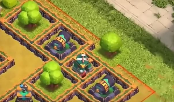 Clash of Clans Epic Jungle Challenge Step One