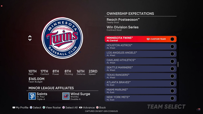 MLB The Show 21 Franchise Mode New Features