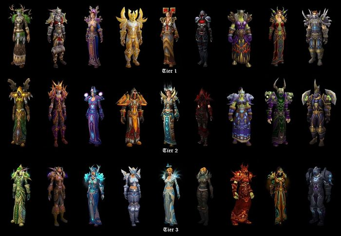 Classic WoW tier 3 set armor 1