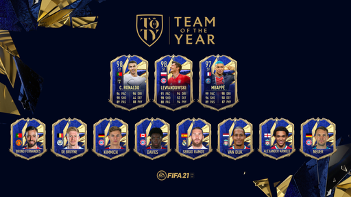 OFFICIAL! This is your FIFA 21 TOTY XI