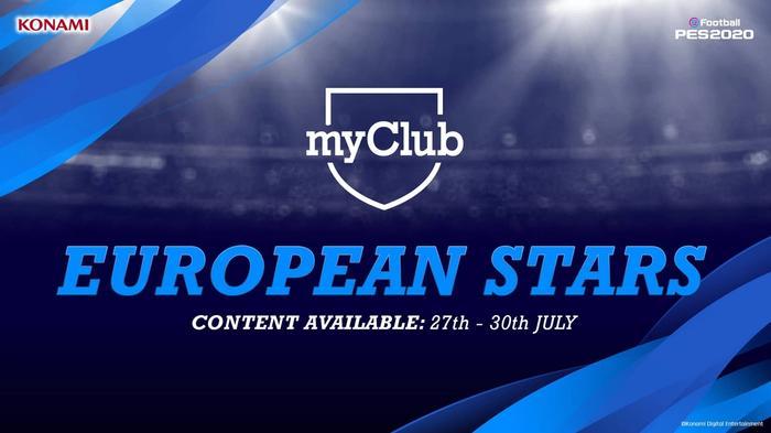 myclub european stars pes 2020 min