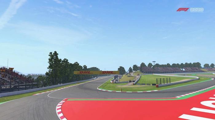 F1 2020 Spain turn 10 Y
