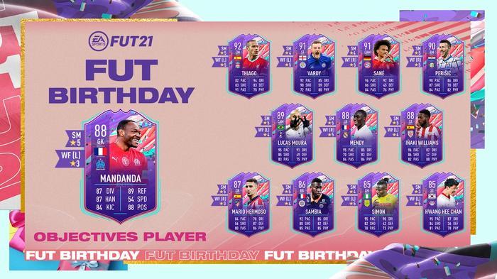 FIFA 21 FUT Birthday Objectives Player Steve Mandanda