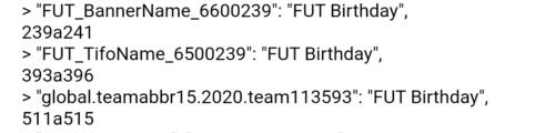 fut birthday code leak