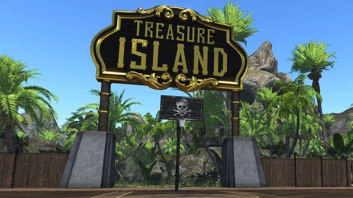 NBA 2K22 Treasure Island