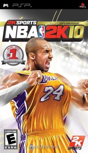 Kobe Bryant 2K10 Cover