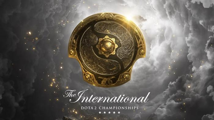 A poster of DOTA 2 The International