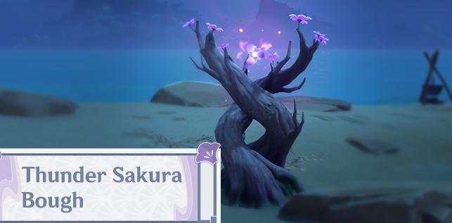 ELECTROGRANA: Obtained from Thunder Sakura Boughs