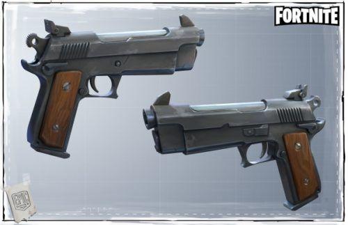 600px Fortnite pistol