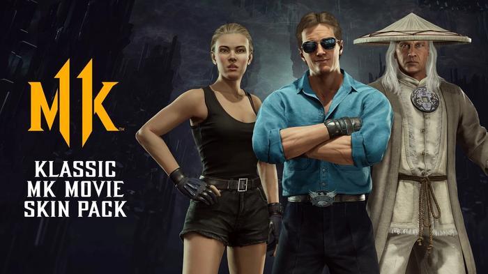 Mortal Kombat 11 Klassic MK Movie Skin Pack