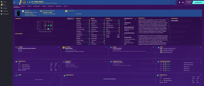 football-manager-2020-Lionel-Messi-stats