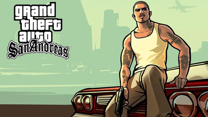Grand Theft Auto Remasters San Andreas Key Art