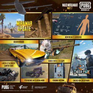 PUBG Mobile Season 13 Mad Miramar event rewards 1 1 1 1