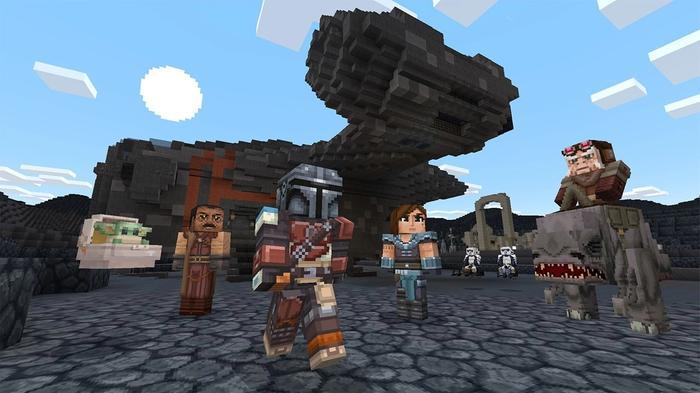 Minecraft Star Wars 1
