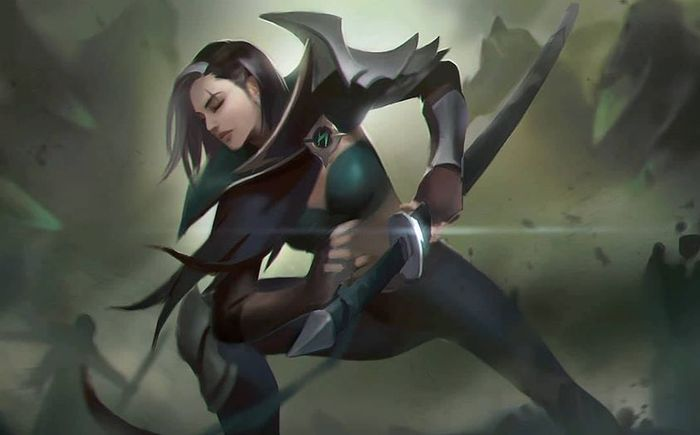 Mobile Legends: Bang Bang hero Benedetta is ready to strike with her sword