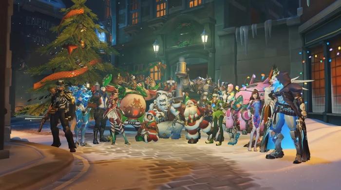 Overwatch Winter Wonderland Skins Game Modes Release Date