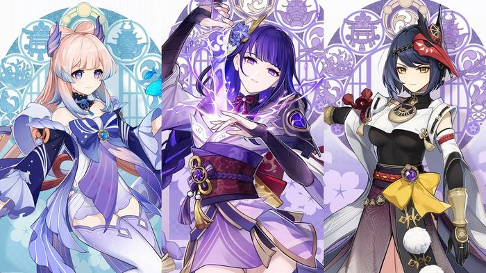 Genshin Impact 2.1 new characters