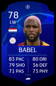 Babel fut base card