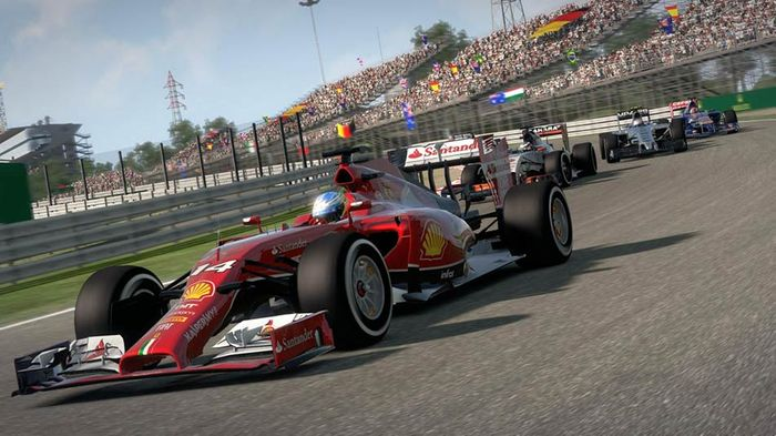F1 2014 gameplay Alonso ferrari