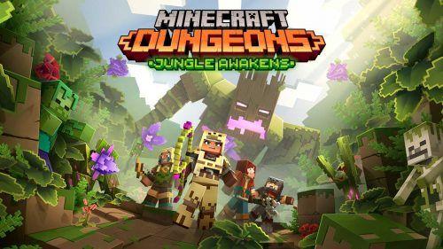 Minecraft Dungeons DLC Jungle Awakens