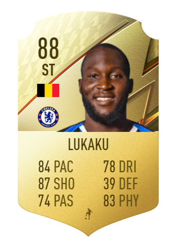 FIFA 22 Romelu Lukaku