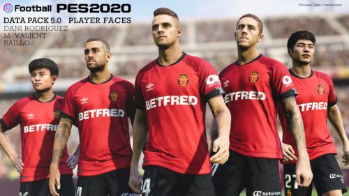 pes data pack 5 player faces