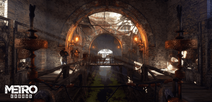 Metro Exodus PC Enhanced Edition Tunnel Ray Tracing