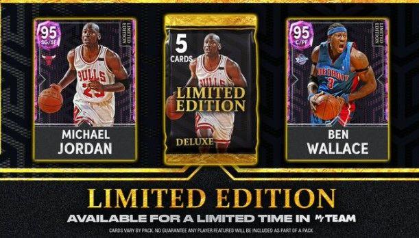 Michael Jordan and Ben Wallace in NBA 2K22