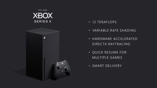 xbox series x specs 12 teraflops rate shading raytracing