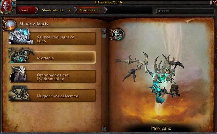WoW Shadowlands World Boss Rotation Mortanis Loot Location Maldraxxus