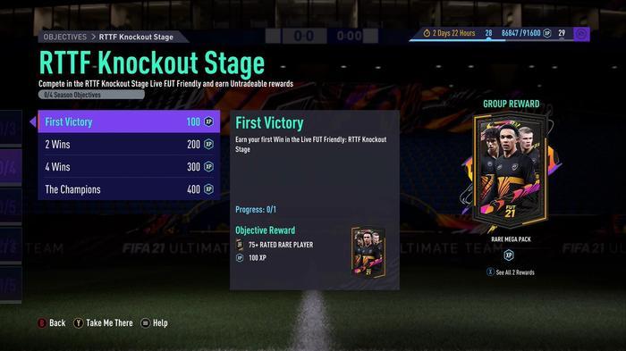 FUT RTTF Knockout Stage 1