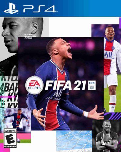 Kylian Mbappe FIFA 21 cover star