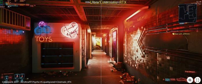 Cyberpunk 2077 Hidden RTX Cinematic Comparison 3