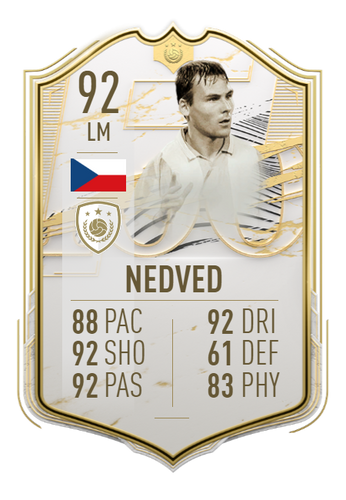 pavel nedved fifa 21 ultimate team icon moments