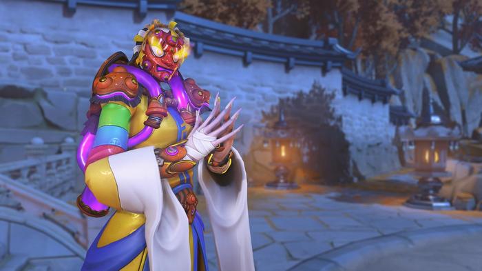 Overwatch Lunar New Year Event Moira Mask