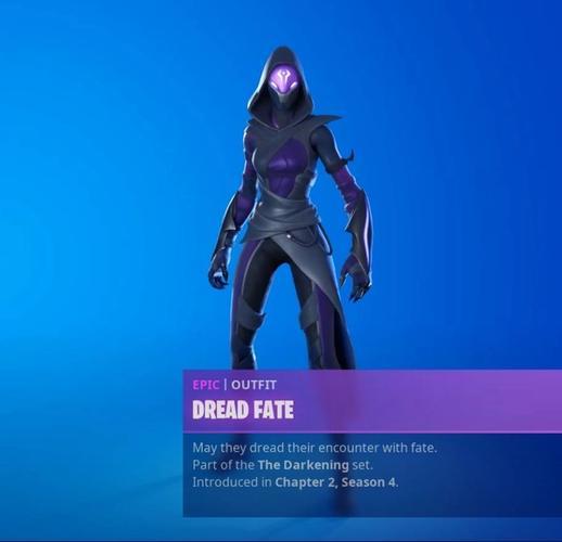 dread fate fortnite leaked cosmetic