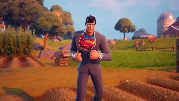 Fortnite Superman Season 7 skin