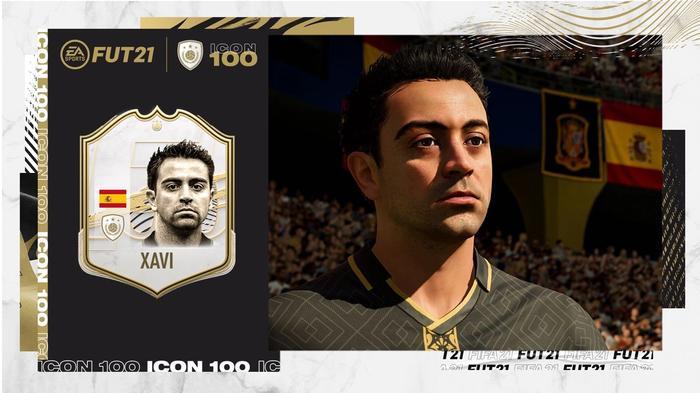 Xavi fut 100 reveal 1