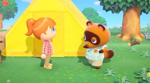 Tom Nook will be one of the player's most-frequently intractable characters.