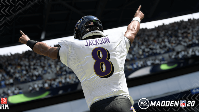 Lamar Jackson - the likeliest candidate for the Madden 21 cover