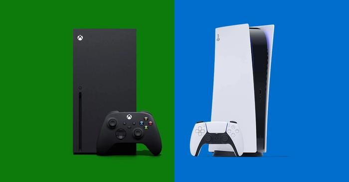 xbox ps5 next to each other