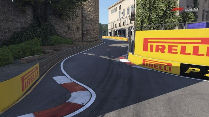 Azerbaijan GP Baku Street Circuit Turns 8 11