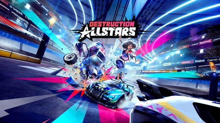 Destruction AllStars PS5 PS Plus Key Art