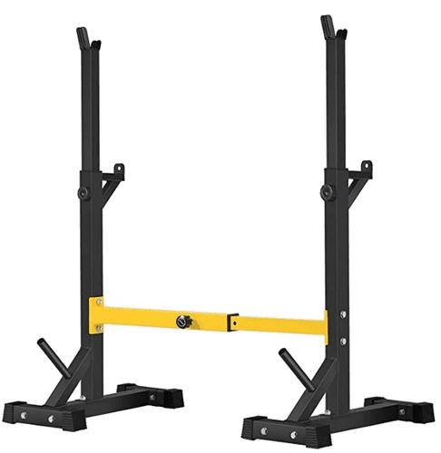 Best squat rack BangTong&Li product image of a yellow and black squat rack