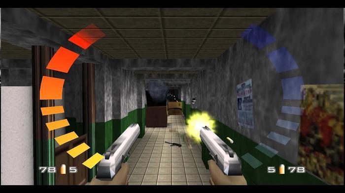 Goldeneye 007 n64 dual pistols