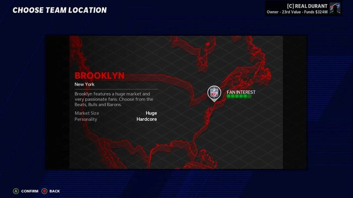 Madden 21 relocation Brooklyn 1